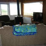 Wonderfully bright living room area
