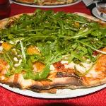 Butternut, Feta and Rocket Pizza