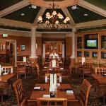 Breakfast, Lunch & Dinner is served daily overlooking our 9 hole golf course and practice facili