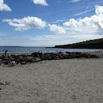 Nearby beach in Rosscarbery