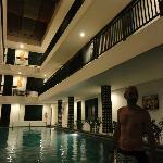 Zona de piscina.