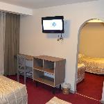 Cuadruple beds room