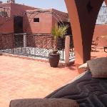 The Riad terrace