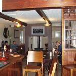 top bar with double log burner