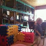 lovely clean soft play area