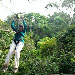 Reserva Natural de OMAGUA practicando DOSEL Y CANOPI