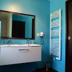 Salle de bain chambre beige