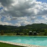 panorama dalla piscina