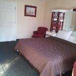 king bed -  handicapped room