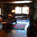 Main room, Elk Lake Lodge