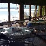 Dining room, Elk Lake Lodge