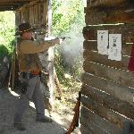 You get a chance to shoot Black Powder!