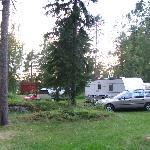 Caravan area