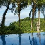 View from the infinity pool...very special