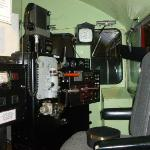 Diesel/electric cab simulator