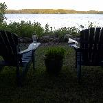 a great place for quiet contemplation or a glass of wine!