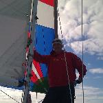 Pretty proud of my first spinnaker set on a J/24