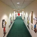 Hallway in Camp Snoopy