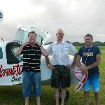 John, Captain Paul & Tim