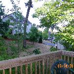 back of house deck