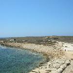 passeggiata costiera arrivo all'Harbour Kato Pafos