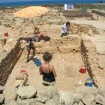gli scavi dei mosaici Kato Pafos