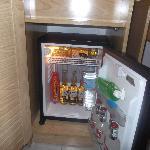 free fridge in room