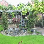 Garden from the Breakfast Room