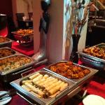 Private party - 10 starters for £12.95 includes Thai and Indian's starters at Saba