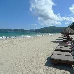 Beautiful beach with fine white sand