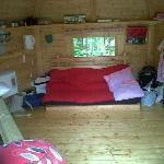 Gilsland Caravan Park camping cabin