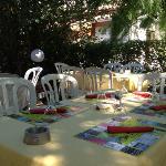 terrasse du restaurant Le Bousquet