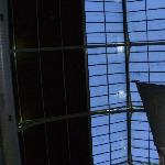 The roof of glass