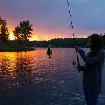 fishing on the docks