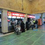 Service counter at Hungry Jacks