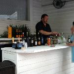 New bar area