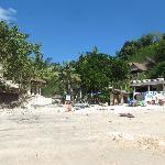 Local beach near villas
