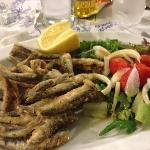 the small fried fish...very nice