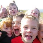 Local school group on Sale Fell