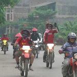 400cc dirt-bikes. Viet Nam Rider.