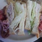Yummy, big sandwich