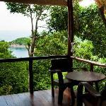 Seaview Hut Balcony