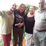 I nostri ospiti Amorita e Felipe (da destra)