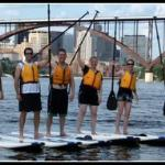 A fun paddleboard tour in St. Paul!