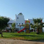 Hotel and playground