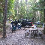 Glacier National Park Campgrounds Foto