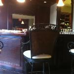 coffee bar in 1st floor waiting room
