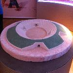Model of the amphitheatre (in the Museum)
