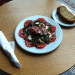 Tomato, Mozzarella & Green Bean Salad