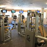 Full Healthclub and fitness facilities including steam, sauna, and hot tubs